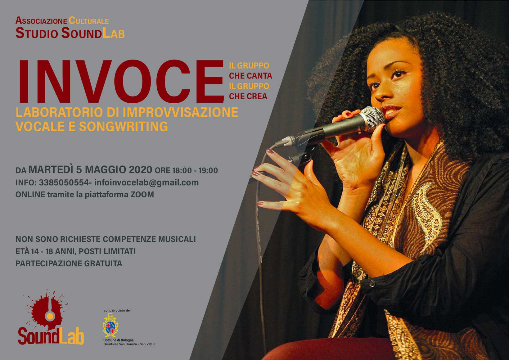 Laboratorio di improvvisazione vocale e songwriting